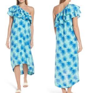 Vineyard Vines Electric Palm High-Low Maxi Dress 4